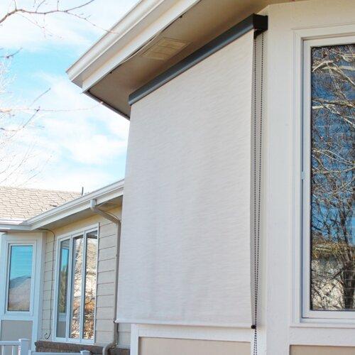 Keystone Fabrics Premium Cord Controlled Outdoor Solar Shade Reviews Wayfair