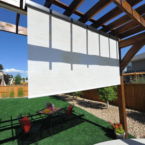 Red Barrel Studio Premium Motorized Outdoor Solar Shade Reviews