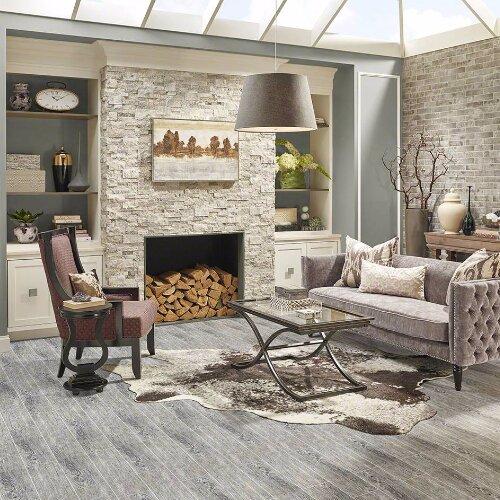 "MSI Sonoma Driftwood 6"" X 24"" Ceramic Wood Look Tile In"