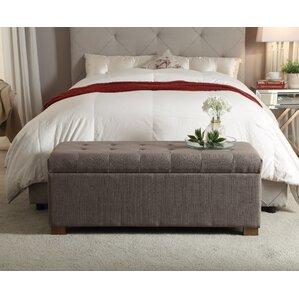 Grey Bedroom Benches You\'ll Love | Wayfair