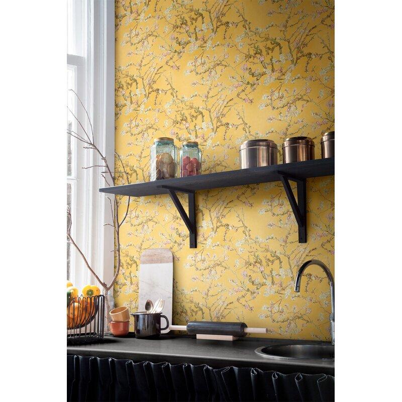 Walls Republic Van Gogh Blossoming Almond Trees 33 X 20 8