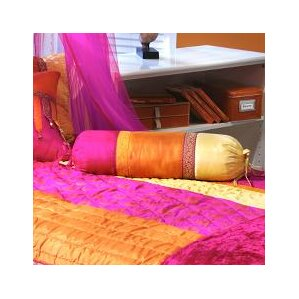 larbi neck roll cotton bolster pillow