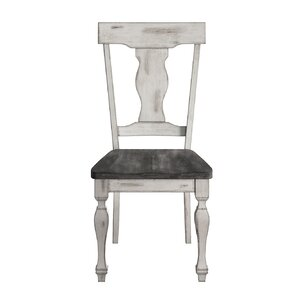 Nathalie Solid Wood Dining Chair (Set of 2) by Lark Manor