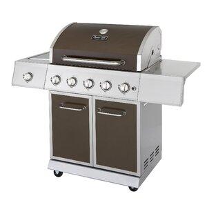 5-Burner Propane Gas Grill with Side Burner