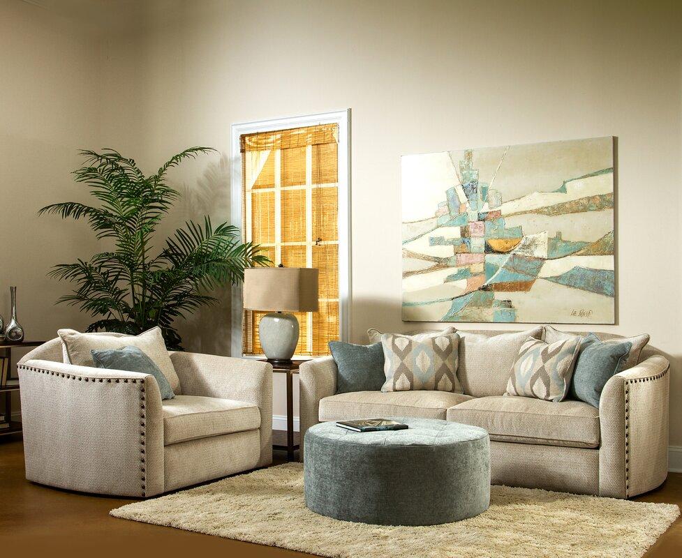Brooke 3 Piece Living Room Set