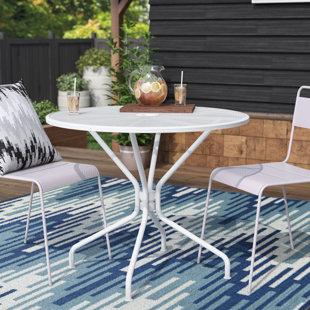 modern outdoor dining tables allmodern