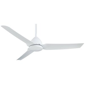 Modern contemporary ceiling fans allmodern 54 java 3 blade ceiling fan with remote mozeypictures Image collections