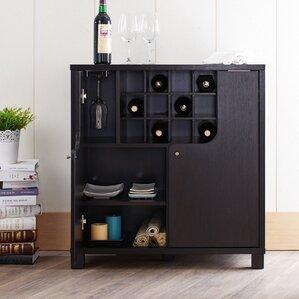 Charming Thurston 12 Bottle Wine Bar