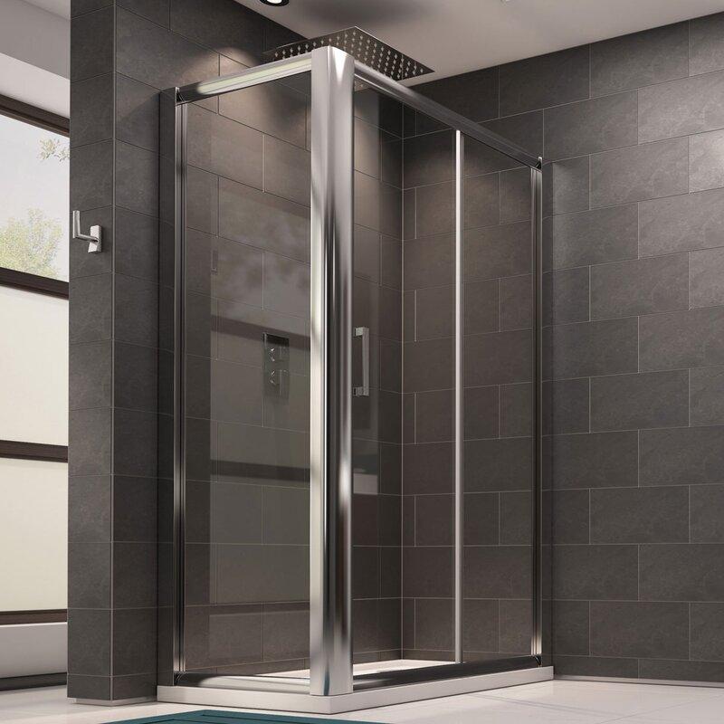 Belfry Bathroom Waverley 170cm W x 75cm D x 185cm H Rectangular ...