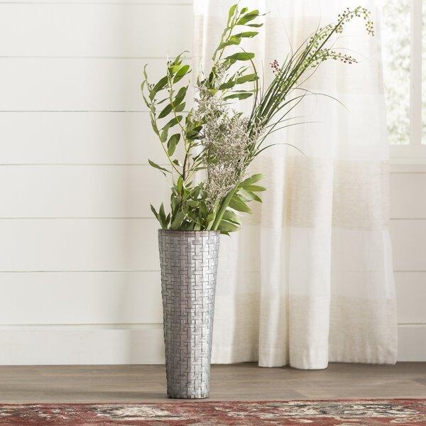 Galvanized Metal Wall Vase Wayfair
