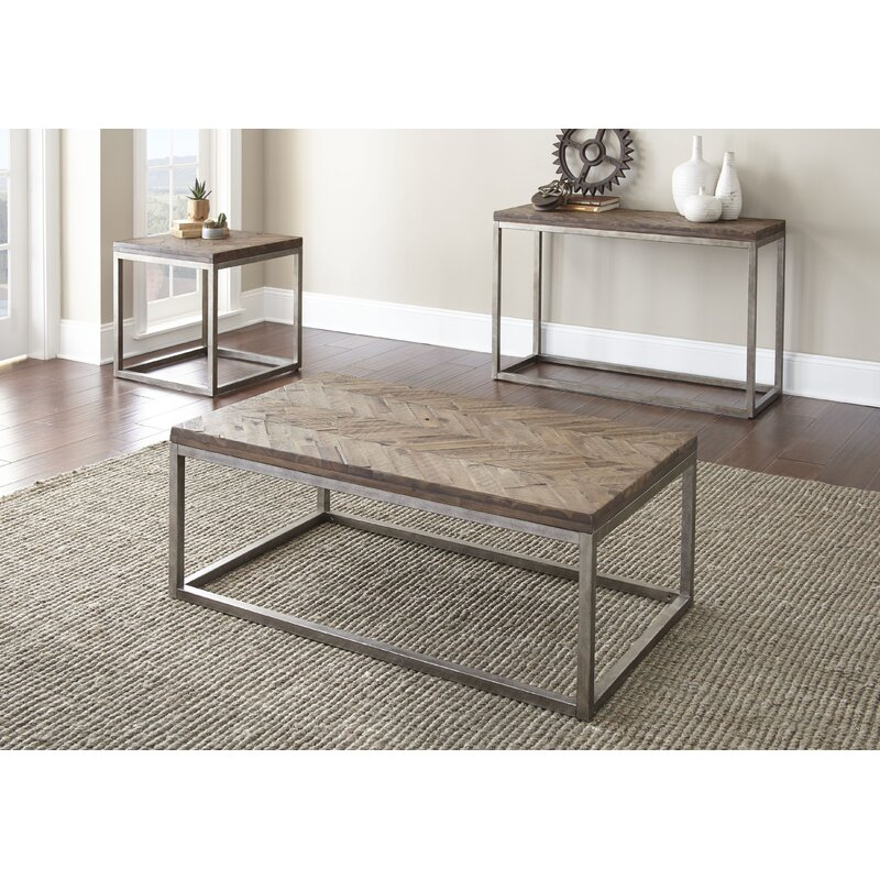 Veropeso 3 Piece Coffee Table Set: Laurel Foundry Modern Farmhouse Kenton 3 Piece Coffee
