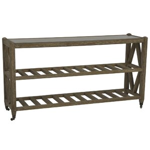 Brussels Wall Console Table With Caster