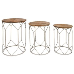 Niles 3 Piece Nesting Tables by Gracie Oaks