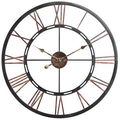 Birch Lane™ Heritage Oversized Remus 27.5 Wall Clock