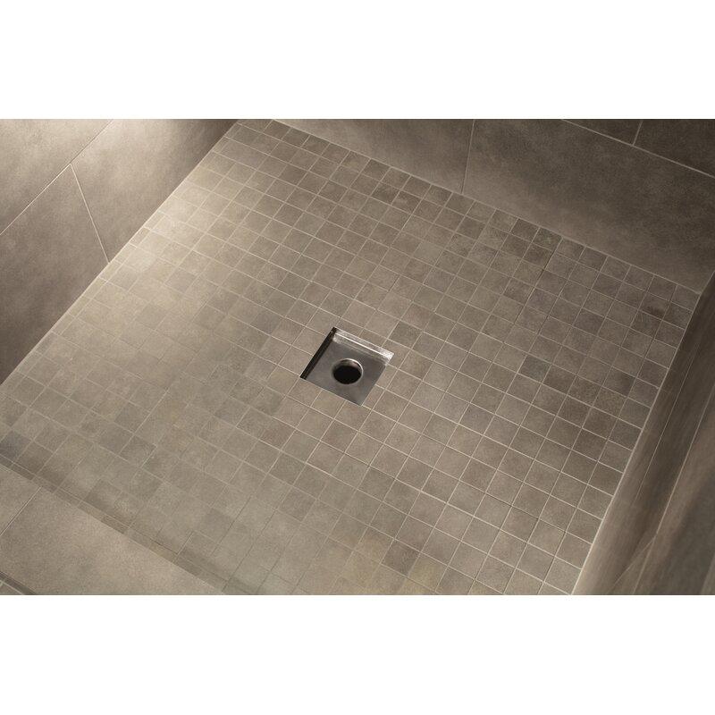 Soleil Stainless Steel Tile Insert Square 2 Linear Shower Drain