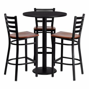 Philbrook 4 Piece Pub Table Set by Red Ba..