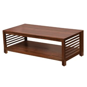 Darcy Coffee Table with Magazine Rack by NES Furniture