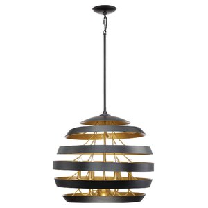 Vizcaino 6-Light Globe Pendant