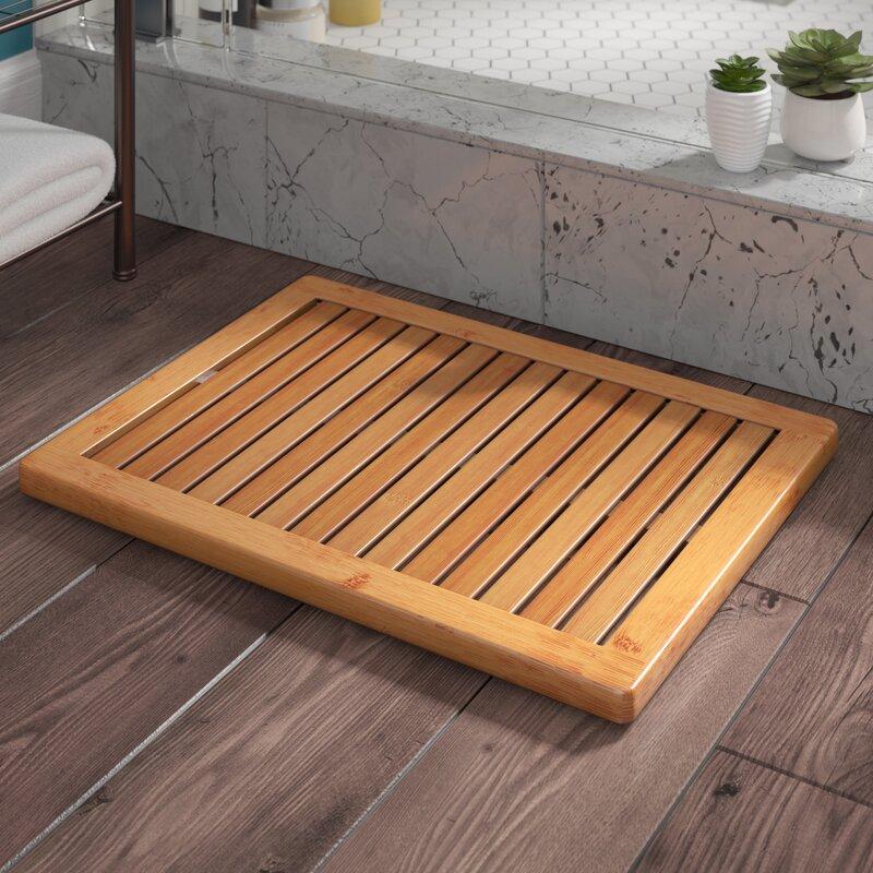 Langley Street Almonte Bamboo Floor & Shower Mat Bath Rugs & Reviews ...