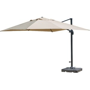 Basel 10u0027 Square Cantilever Umbrella