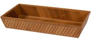 Bamboo Bathroom Accessory Tray