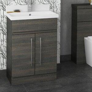 BeModern Bathrooms 60 cm Waschtisch Montreal mit Aufbewahrungsschrank