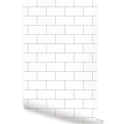 Brick Wood Amp Stone Self Adhesive Wallpaper You Ll Love