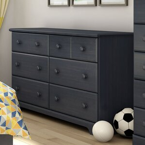 Barrientes 6 Drawer Double Dresser by Harriet Bee