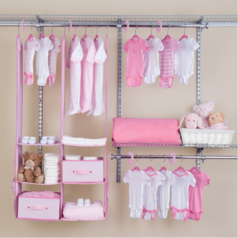 Bon Deep Nursery Closet Organizer 24 Piece Set