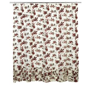 Thea Cotton Ruffled Shower Curtain