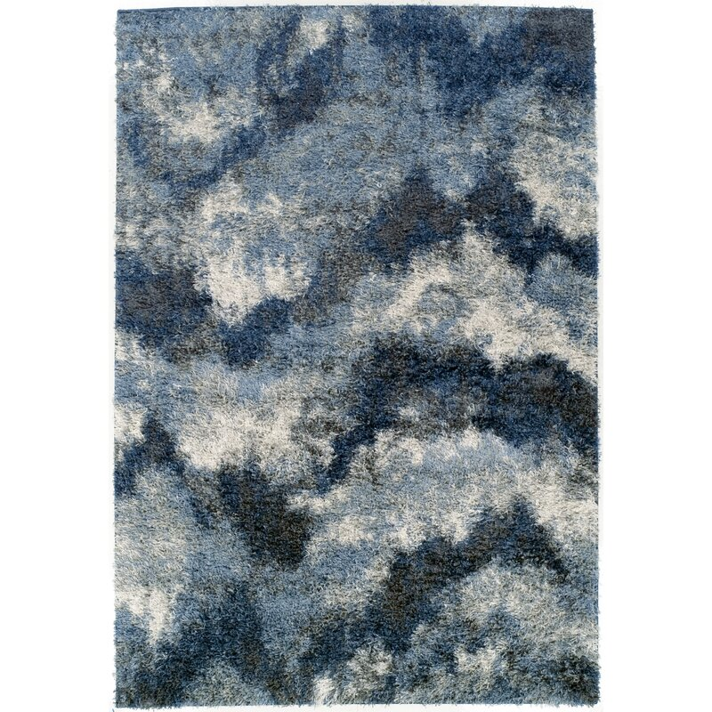 Plush Navy Rug: 17 Stories Zhora Navy Area Rug & Reviews