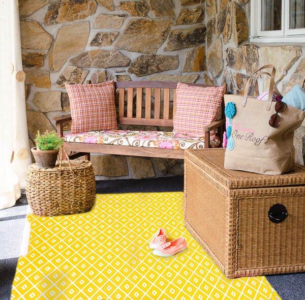 longweave au enteppich in gelb bewertungen. Black Bedroom Furniture Sets. Home Design Ideas