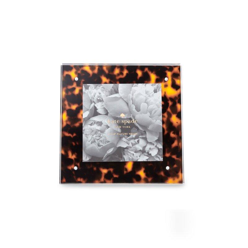 Kate Spade New York Acrylic Picture Frame Tortoise Wayfair
