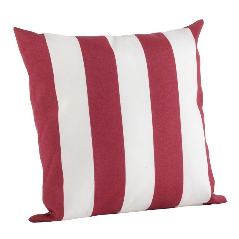 Outdoor Pillow Stripe Indoor/Outdoor Throw Pillow & Reviews | Joss ...
