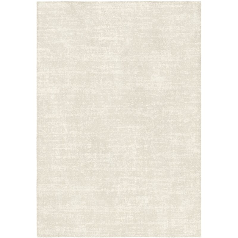 Juliana Low Pile Semi Plain Cream Rug