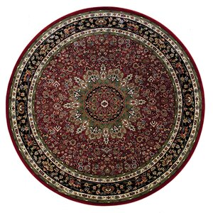 Shelburne Traditional Red/Blue Area Rug