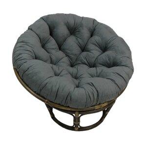 Decker Rattan Papasan Chair  sc 1 st  Wayfair & Grey Papasan Accent Chairs Youu0027ll Love | Wayfair islam-shia.org