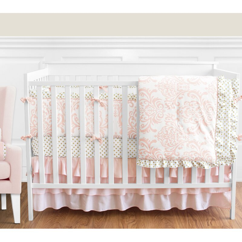 11b24ddb3 Sweet Jojo Designs Amelia 9 Piece Crib Bedding Set & Reviews | Wayfair