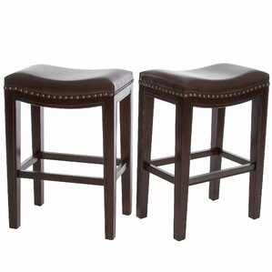 Asian Style Bar Stools saddle seat bar stools you'll love | wayfair