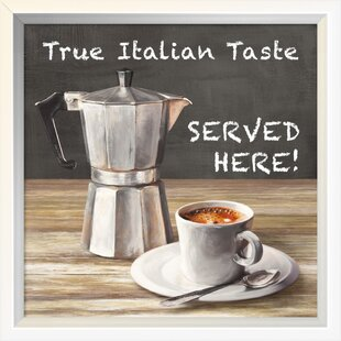 U0027True Italian Tasteu0027 Graphic Art Print