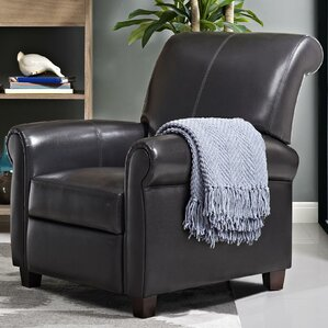 Seville Manual Recliner & Faux Leather Recliners Youu0027ll Love | Wayfair islam-shia.org