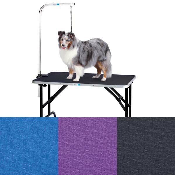 dog grooming table with arm
