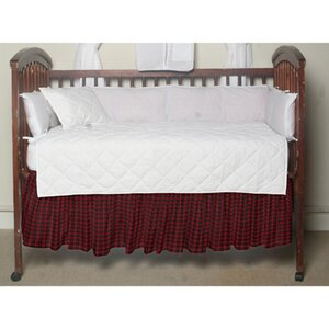 Highspun Stars Fabric Crib Dust Ruffle