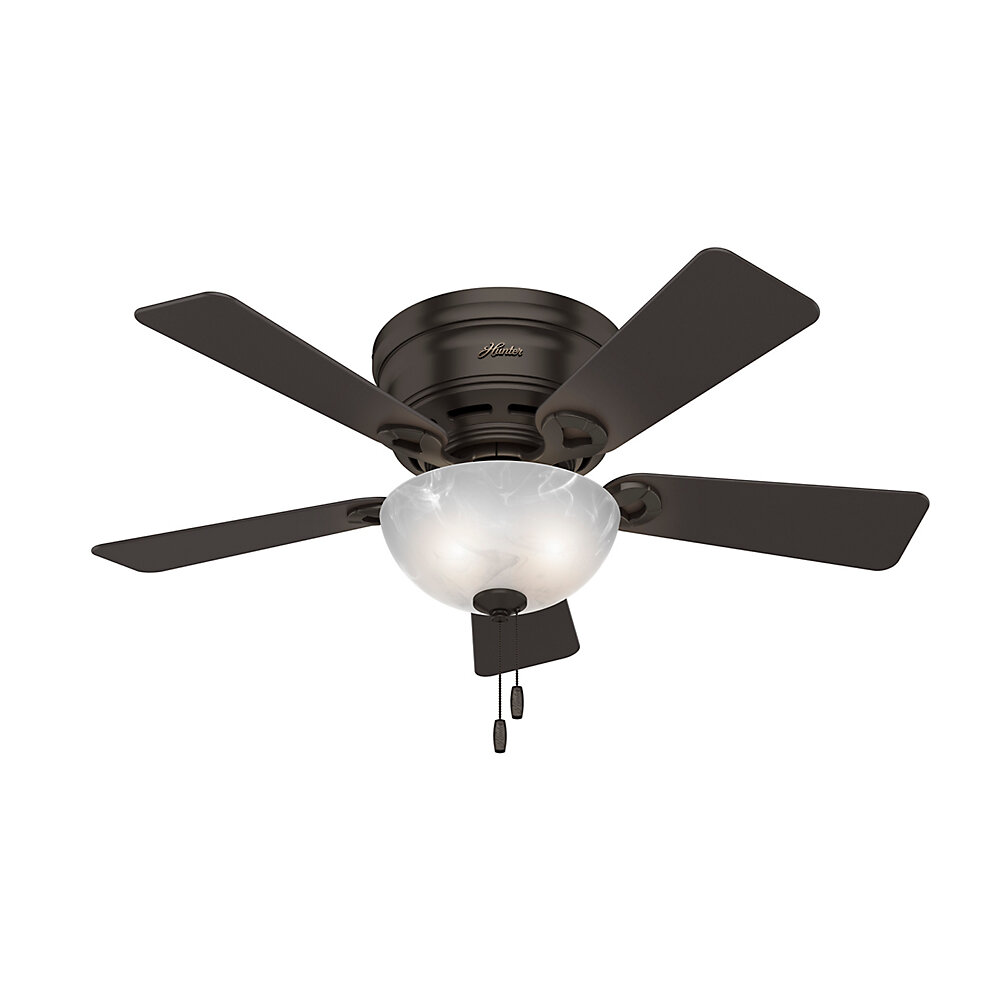 Hunter fan 42 haskell 5 blade ceiling fan with light reviews hunter fan 42 haskell 5 blade ceiling fan with light reviews wayfair mozeypictures Images