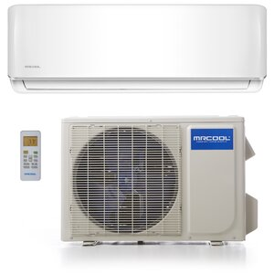 Advantage 18,000 BTU Ductless Mini Split Air Conditioner with Remote