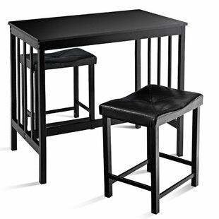 Miskell 3 Piece Dining Set