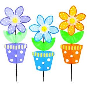 Flower Pot 3 Piece Spinner Set