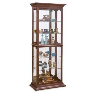 Fairfield II Lighted Curio Cabinet