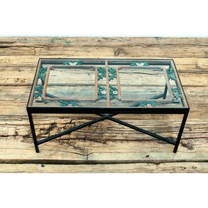Sarreid Ltd Antique Window Framed Coffee Table