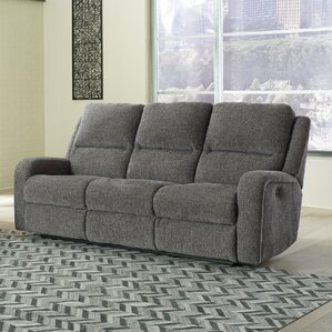 Armatou Reclining Sofa by 17 Stories